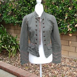 Forever 21 military style accent jacket, SIZE M
